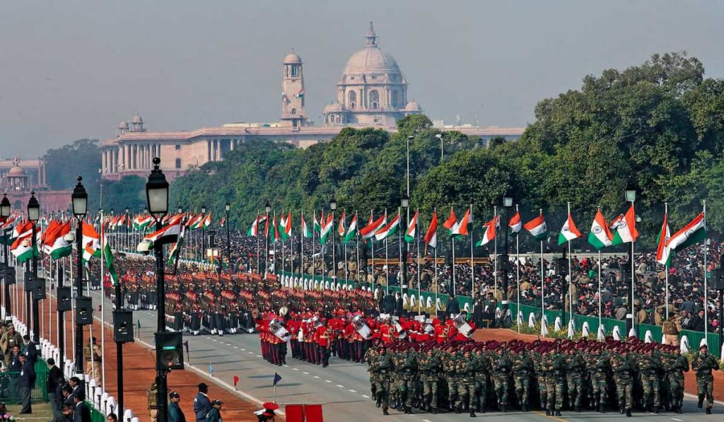 Only 25,000 spectators for republic day celebration