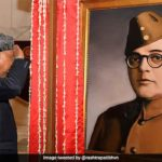 President Unviels Portrait of Actor Instead of Netaji