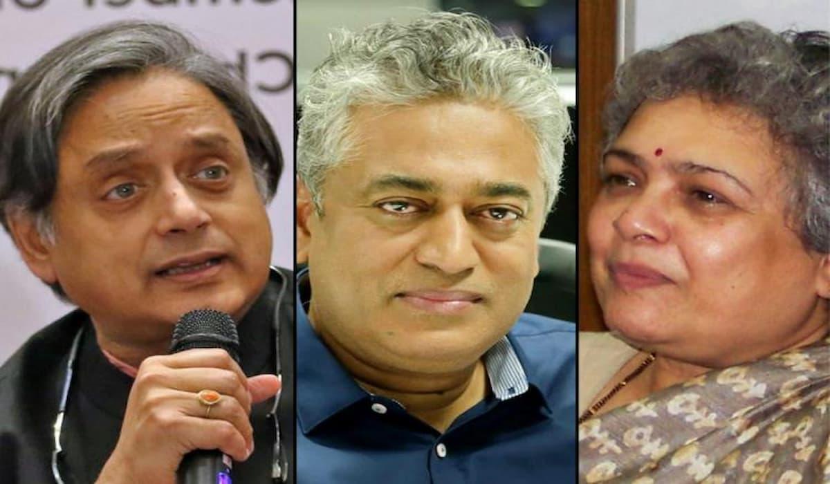 FIR Booked against Shashi Tharoor, Rajdeep Sardesai