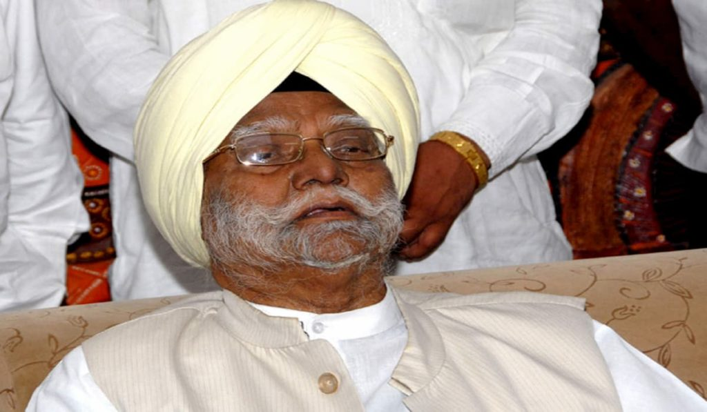 Senior Congress Leader Buta Singh Passes Away