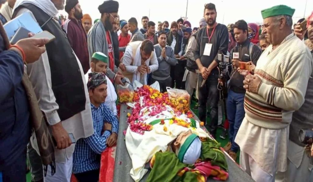 Another farmer dies at Ghazipur border