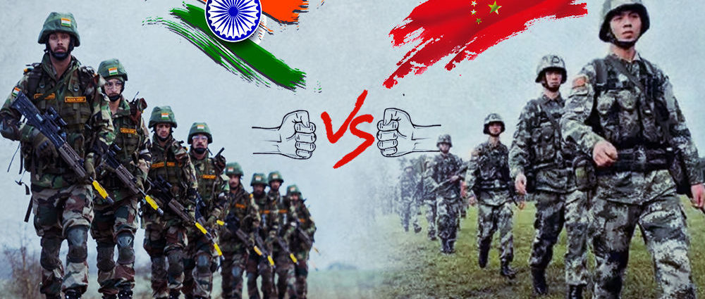 India China Armies