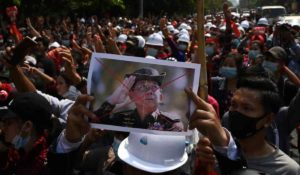 Myanmar Military Coup Killed 12 People