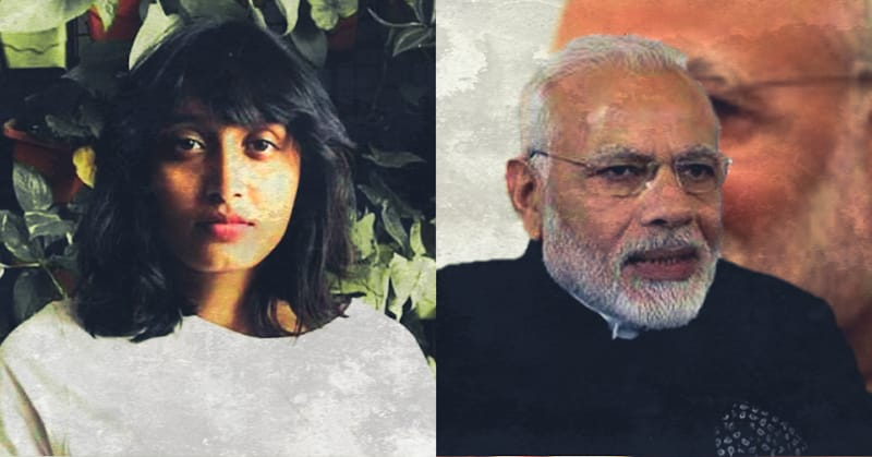 Disha Ravi and Modi