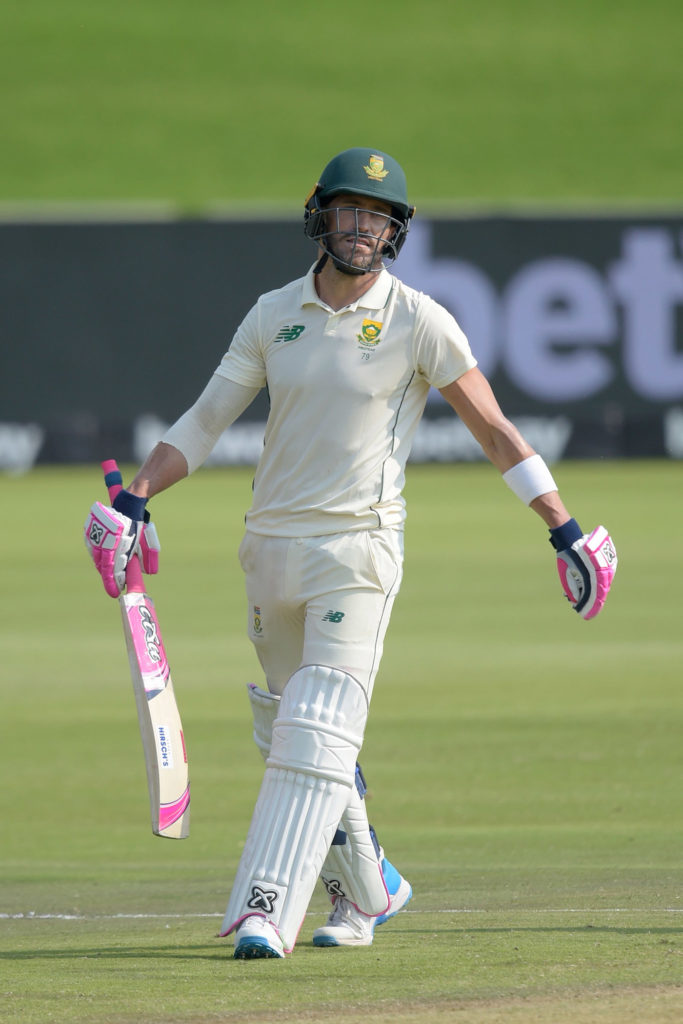 Faf du Plessis in cricket ground
