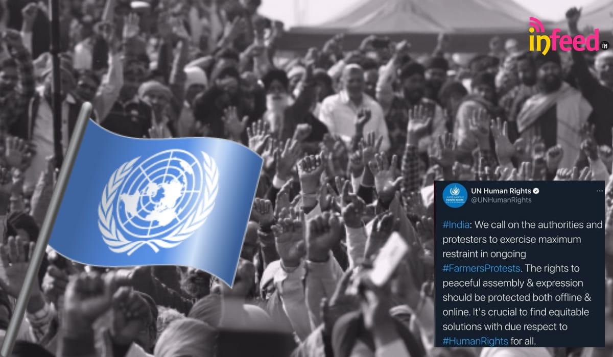 UN on Farmers' Protest