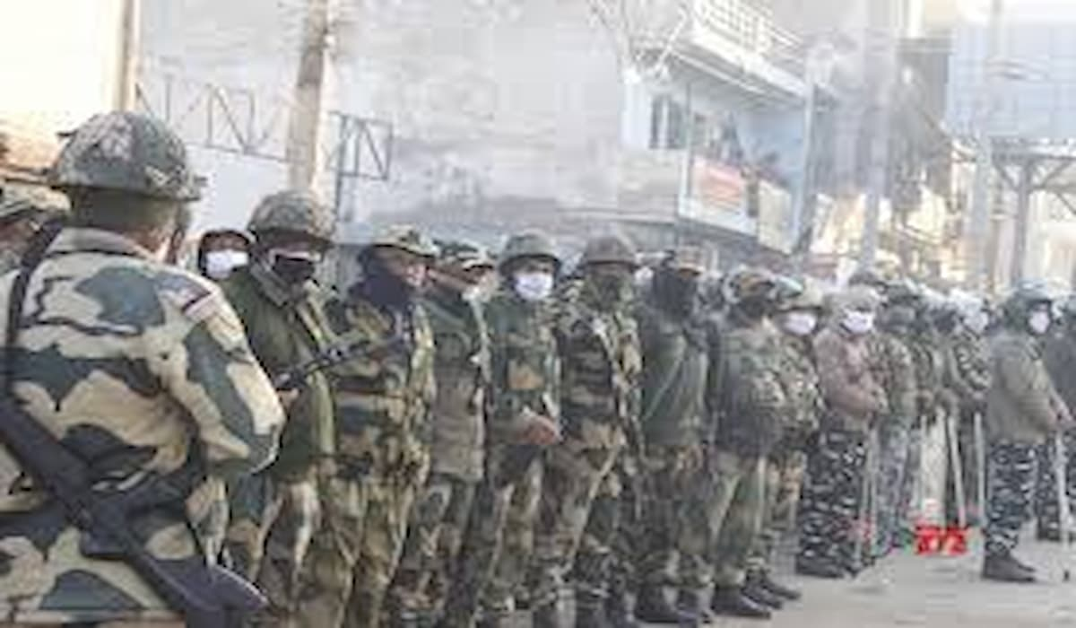 Tikri Border Security Tightened