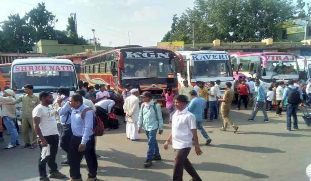 Bus Service Suspension Extended for Maharashtra