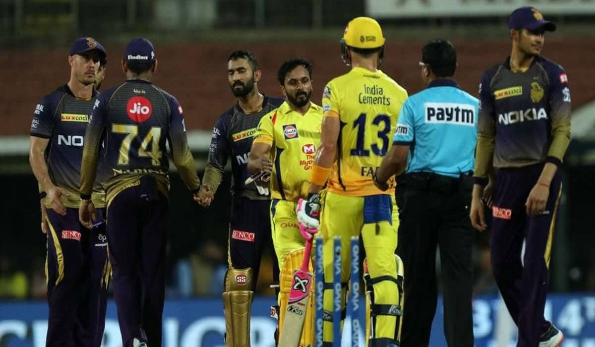 CSK Reaches top of Points Table by Defeating KKR