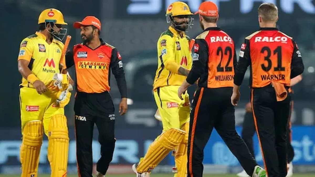 CSK Reaches Top of Points Table after Defeating SRH