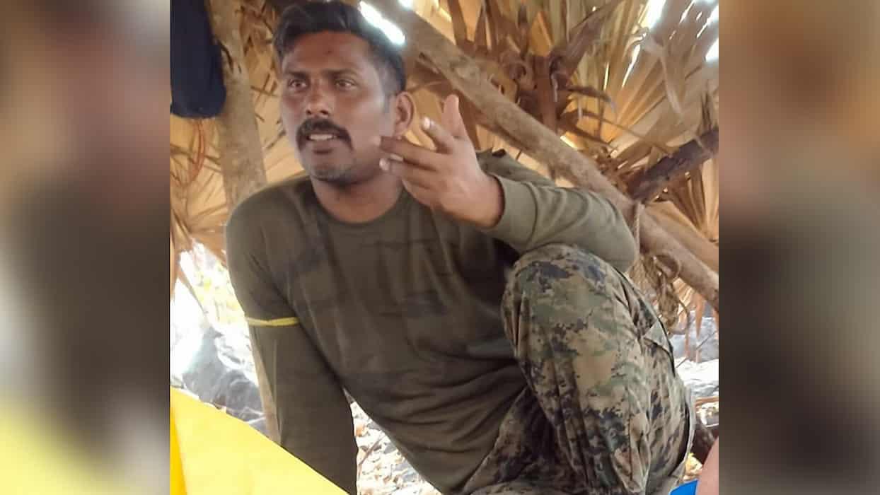 CRPF Jawan Rakeshwar Singh