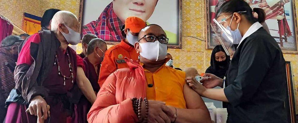 Bhutan Vaccinates 93% Population in 16 Days