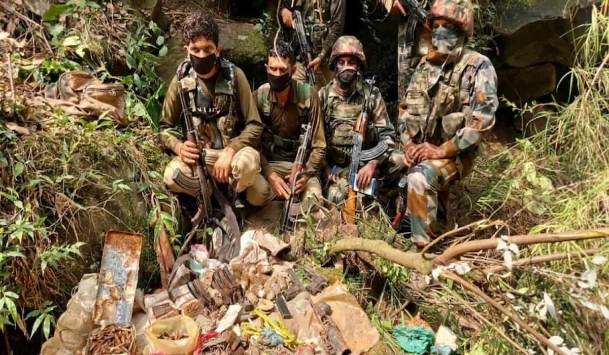 Terrorist Hideout Busted in Jammu and Kashmir