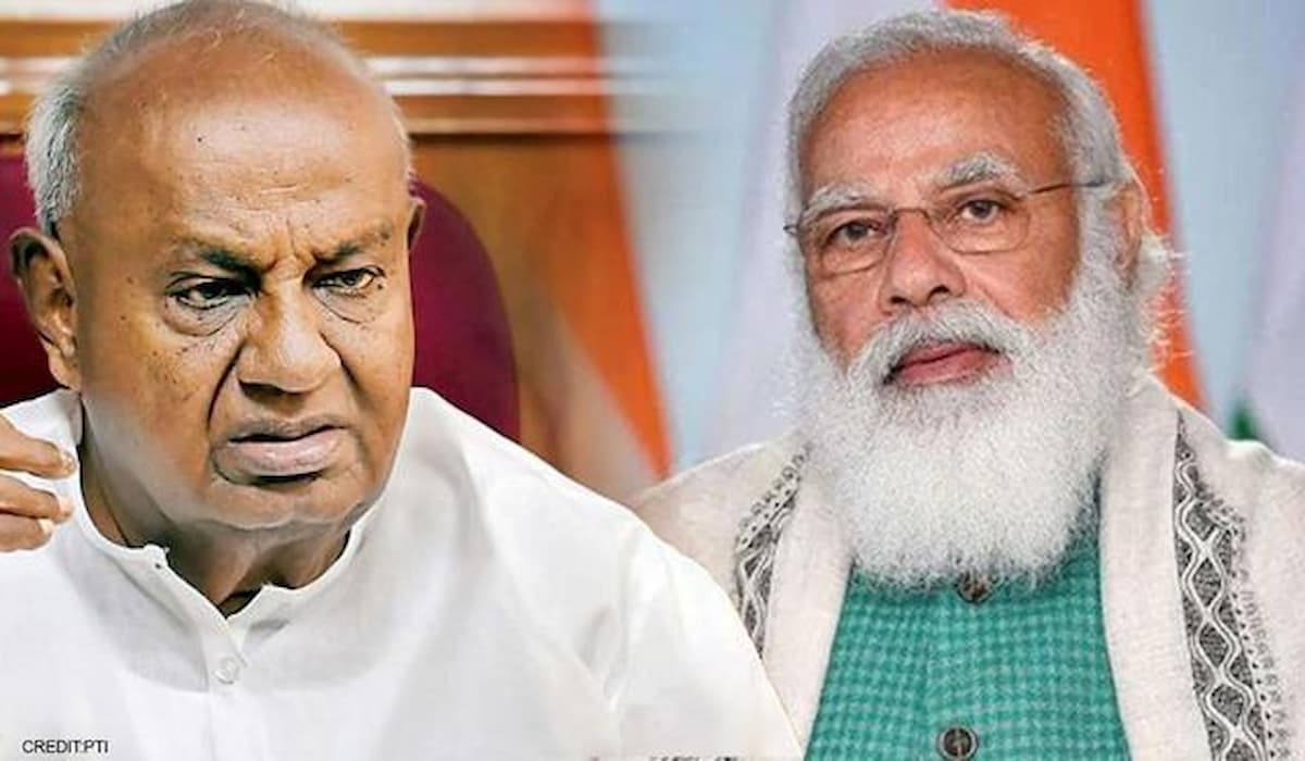 Deve Gowda writes to PM Modi