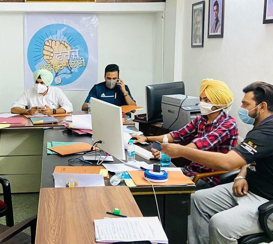 #FarxManukhtaLai Team at the War Room