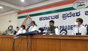 Karnataka Congress Drafts 100 Cr Vaccination Plan