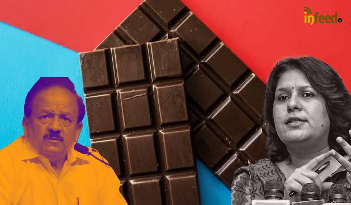 Congress Hits back on Health Minister Dark Chocolate Remark