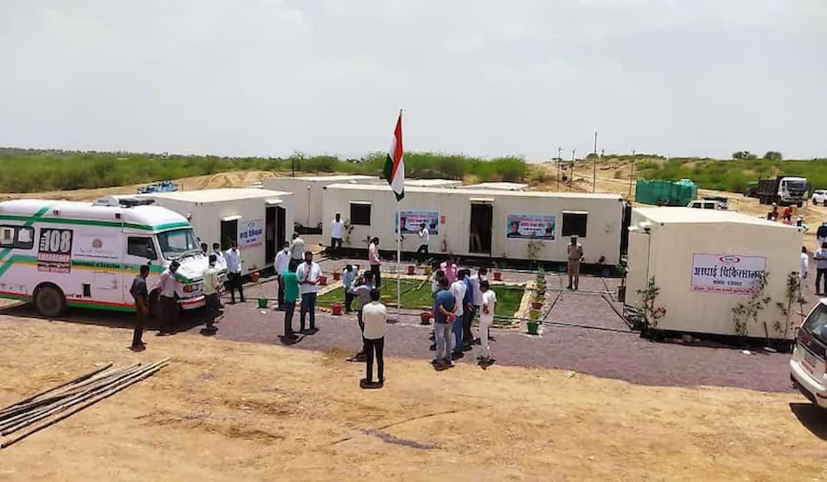 Congress Builts Covid Care Centre within 48 hours