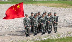 Chinese Army in Demchuk